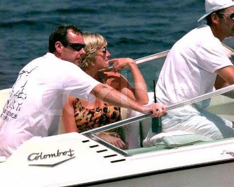 Lady Diana et Dodi-Al-Fayed sur le Colombo