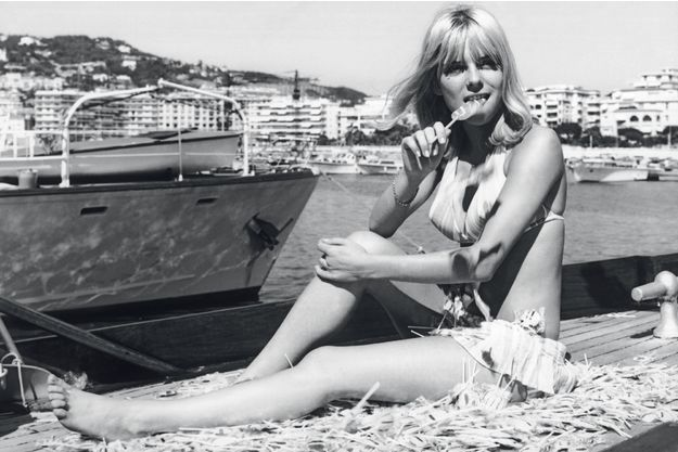 France Gall à Cannes