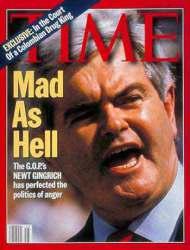 "Newt Gingrich ""Fou comme l'enfer"""