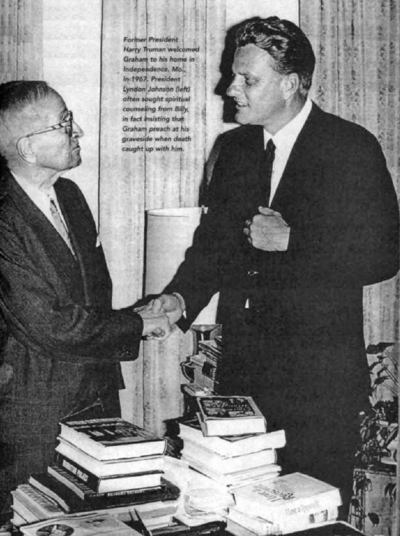 Billy Graham avec l'ancien président Harry Truman