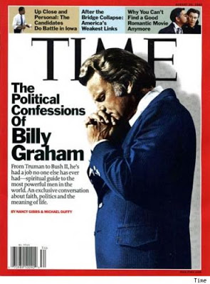 Couverture du Time: Billy Graham