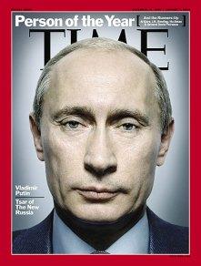 """Couverture du Time: Vladimir Putin  """"Personalité de l'année"""""""