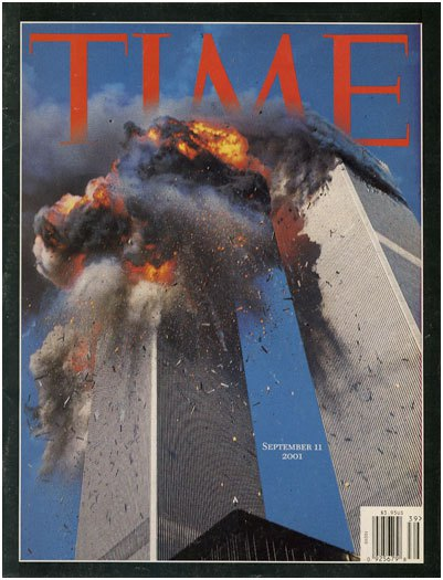Couverture du Time: WTC