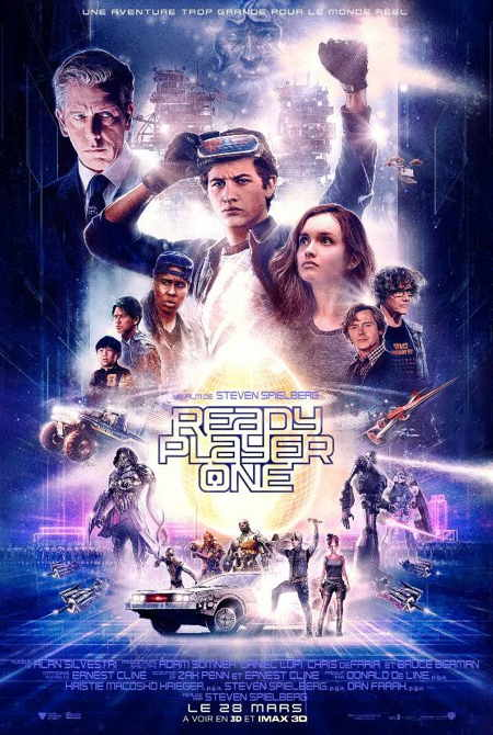 "Film ""Ready Player One"" de S. Spielberg"