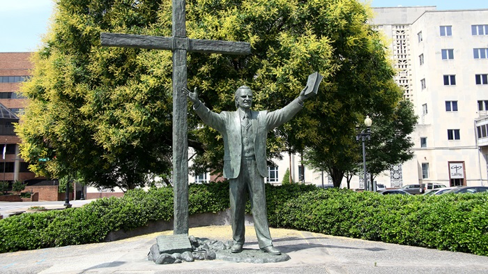 Statue de bronze de Billy Graham