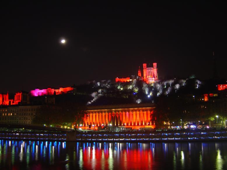 153e fête des lumières de Lyon