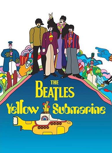 "Album ""Yellow submarine"" des Beatles"