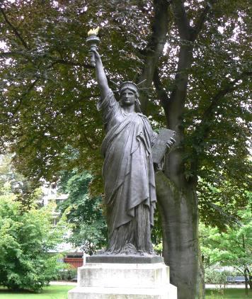Original de la statue de la Liberté