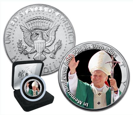 medaille commemorative  Jean-Paul II