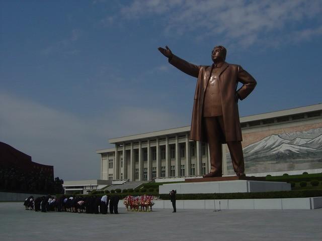 Statue de Kim Jong Il