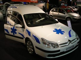 Rune sur ambulance
