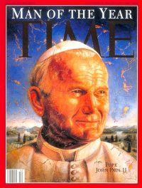 Time magazine pape Jean-Paul II