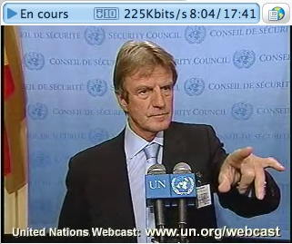 Bernard Kouchner ONU 27/09/2007