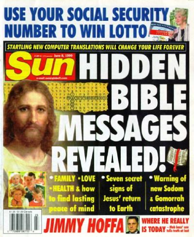 Bible codes sun