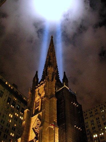 Feux commemoratifs WTC 9/11