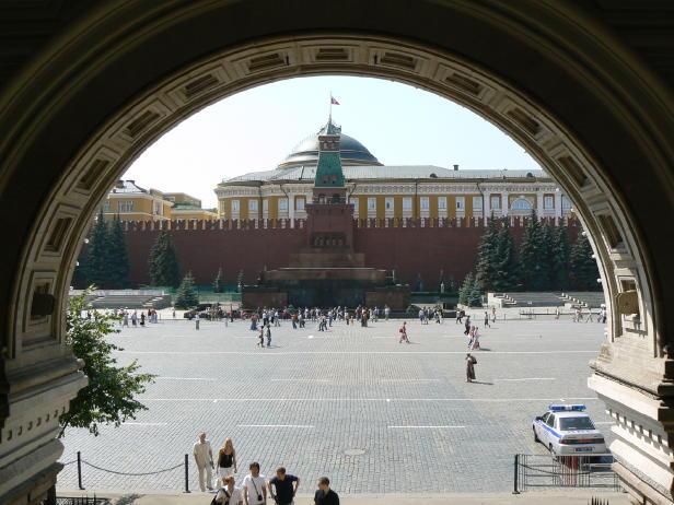 - Mausolée de Lénine - Place rouge à Moscou -