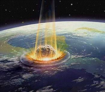 Texte de  l'Apocalypse de Jean avec images actuelles Meteore