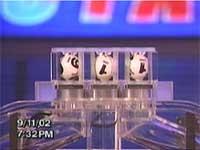 911: résultat de la Loterie de New York le 11/09/2002