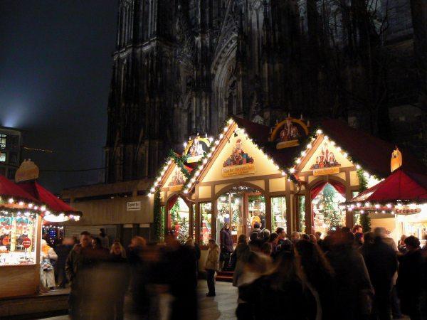 Marché de Noël et cathédrale de Cologne