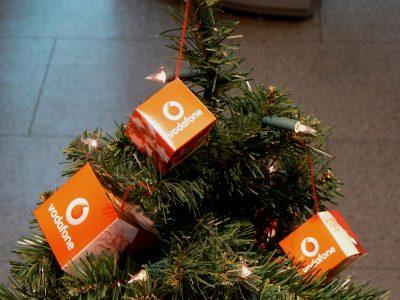 Sapin de Noël Vodafone