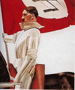 Sexploitation & Nazisme Hitler_chevalier