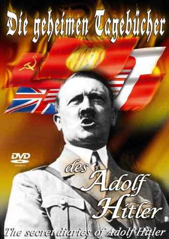 Jacquette de DVD: secret diaries of Adolf hitler