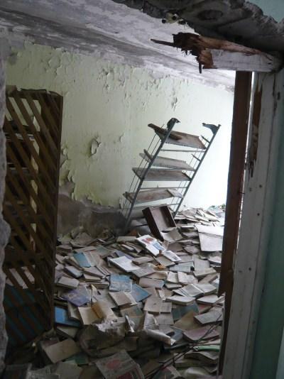 Pripyat Zone de Tchernobyl