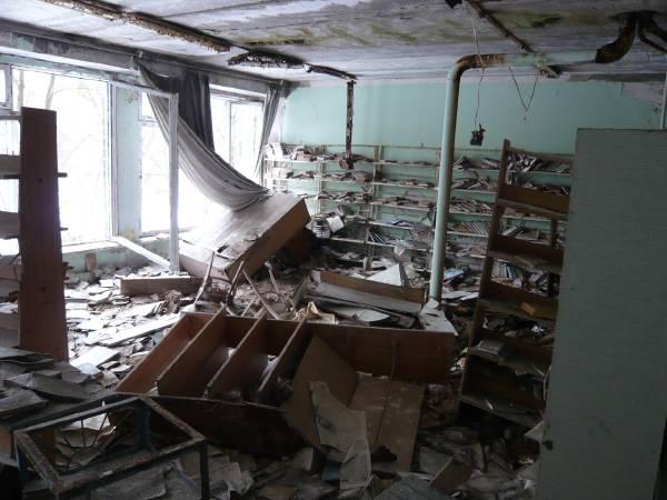 Ecole à Tchernobyl