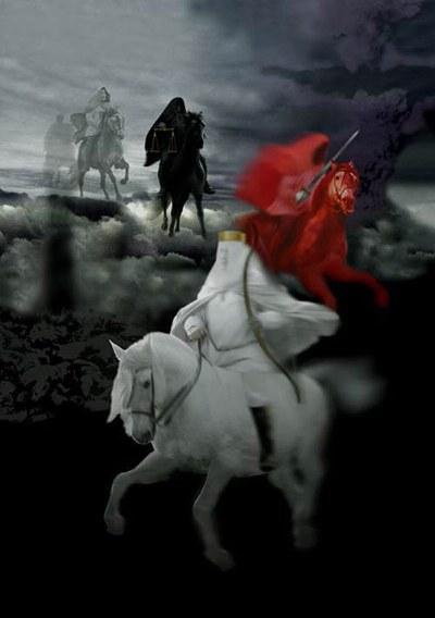 Texte de  l'Apocalypse de Jean avec images actuelles 4_cavaliers_apocalypse