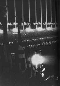 procession nazie à Nuremberg