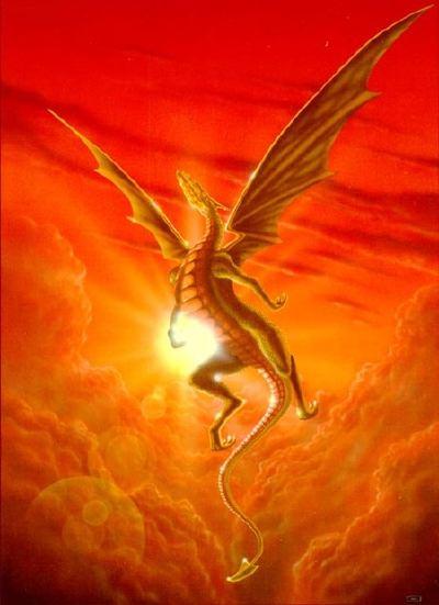 Texte de  l'Apocalypse de Jean avec images actuelles Dragon_2