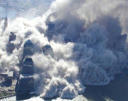 Effondrement des tours jumelles du WTC le 11 Septembre 2008