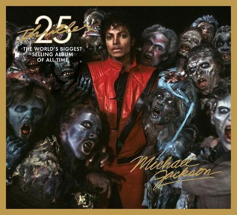 Album Thriller de M. Jackson