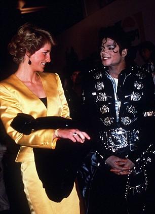 Michael Jackson et Lady Diana