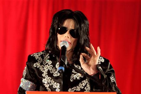 Conférence de M. Jackson à Londres en Mars 2009