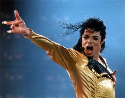 Michael Jackson en scène