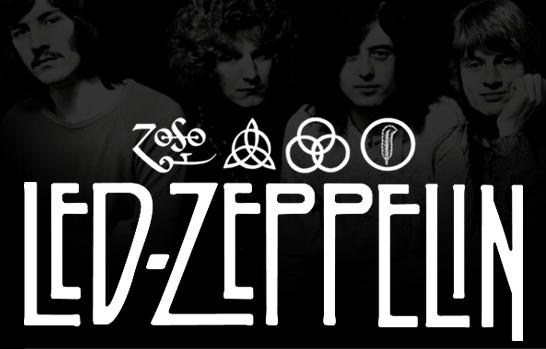 Signature graphique du groupe Led Zeppelin