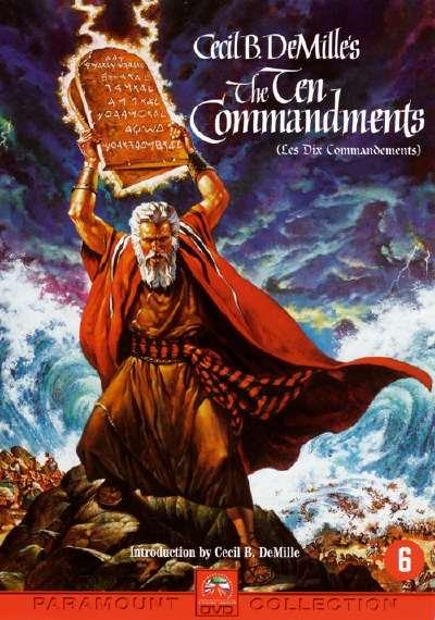 """""""Les 10 Commandements"""" de Cecil B. DeMille"""