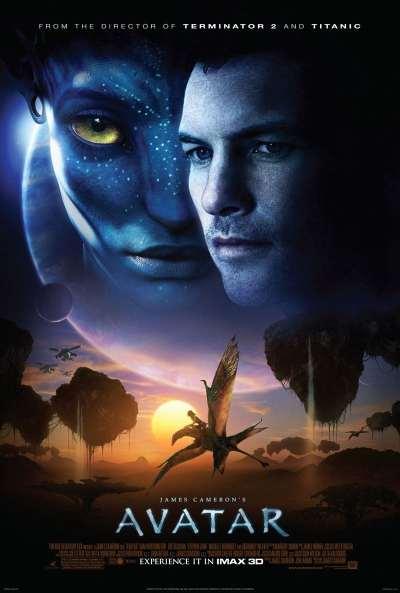 """Affiche du film """"Avatar"""" réalisé par James Cameron"""