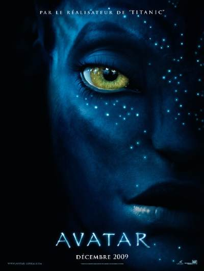 "Affiche du film ""Avatar"" de James Cameron"
