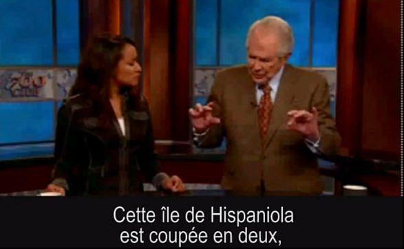 Interview de Pat Robertson après le séisme du 12 Janvier 2010 à Haïti