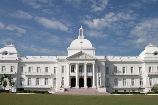 Palais présidentiel à Port au Pince avant le séisme du 12 Janvier 2010