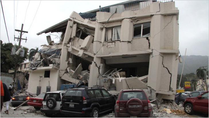 Port au Pince après le séisme du 12 Janvier 2010