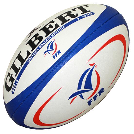 Ballon de rugby Gilbert FFR