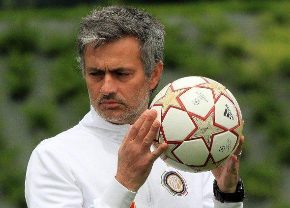 entraîneur de l'Inter Milan, José Mourinho