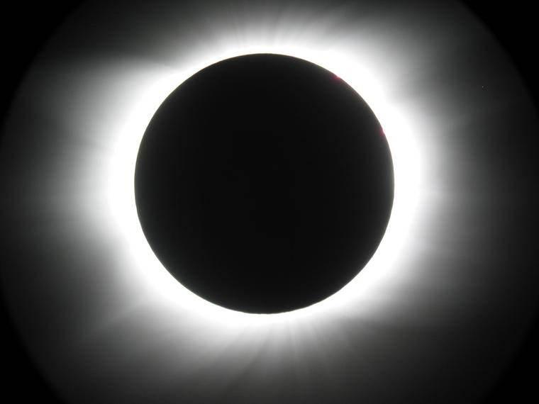 éclipse totale de soleil