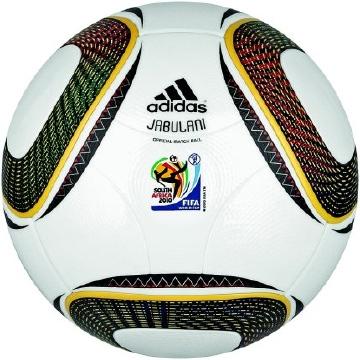 "Ballon officiel ""Jubalani""   Coupe du monde de Football 2010"