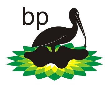 Caricature logo bp