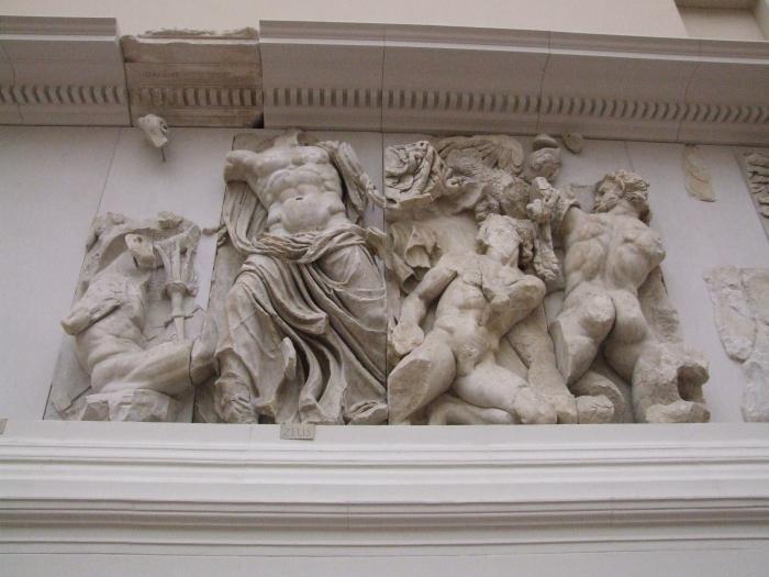 Zeus contre Porphyrion