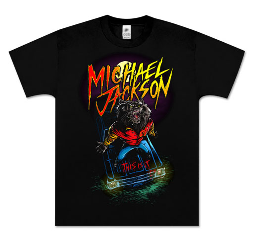 "- ""T-shirt"" ""This is it"" Michael Jackson -"